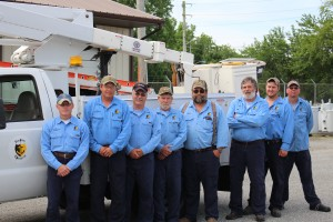 Electric Department Personnel