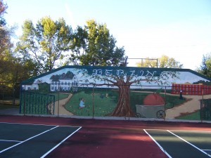 The official ribbon cutting for the Stephen Decatur Park Mural was held on Saturday, Nov. 8th.