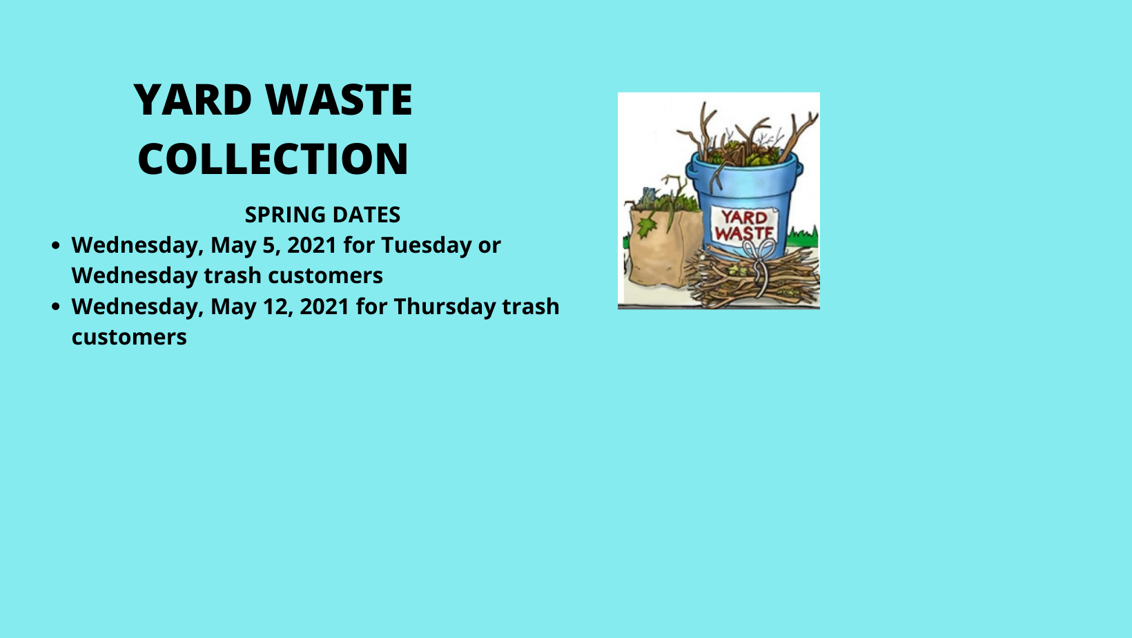 Town of Berlin Yard Waste Collection